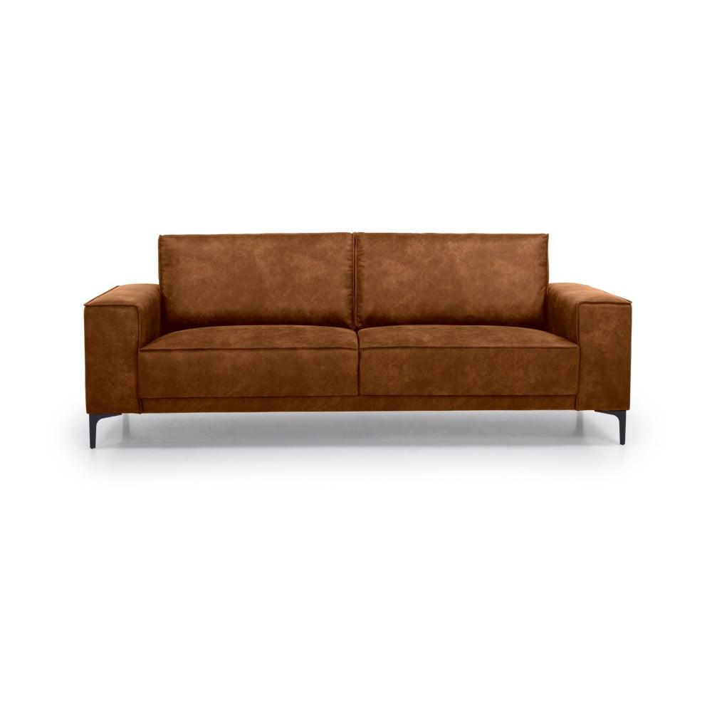 Brązowa sofa 3-osobowa Scandic Copenhagen