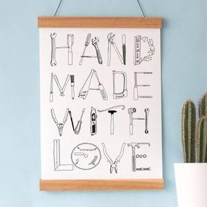Plakat Hand Made, 30x40 cm