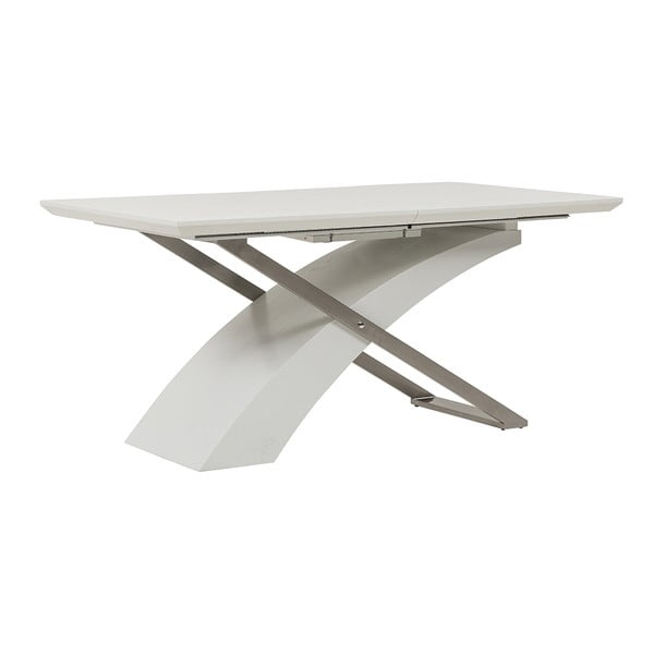 Stół rozkładany Level, 160-200 cm, biały