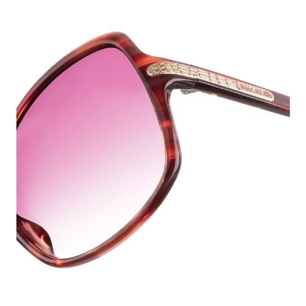 Damskie okulary przeciwsłoneczne Just Cavalli Red Marbled