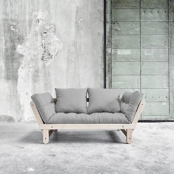 Sofa rozkładana Beat Beech/Gris