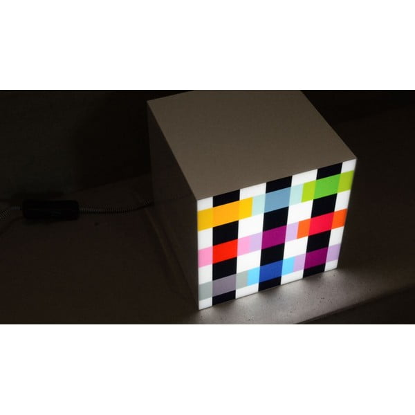Lampka Remember Cube Light Colour Caro
