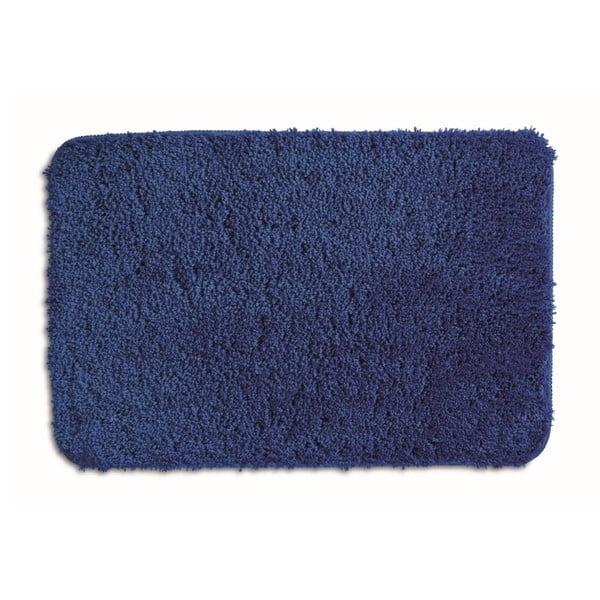 Niebieski dywanik łazienkowy Kela Livana, 80x50cm
