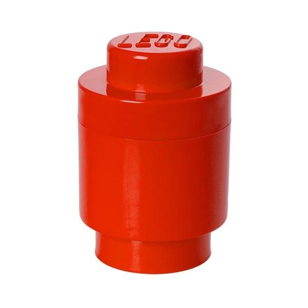 Czerwony pojemnik okrągły LEGO®