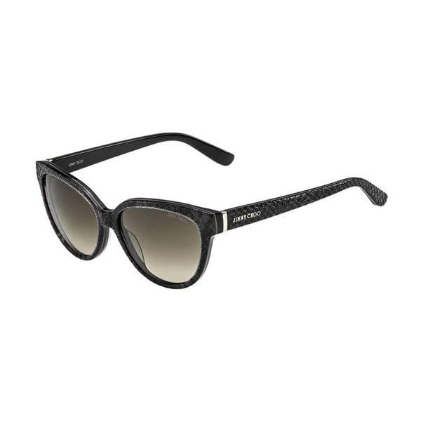 Okulary przeciwsłoneczne Jimmy Choo Odette Black Python/Brown