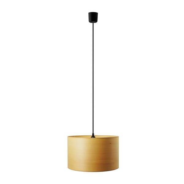 Lampa wisząca w kolorze drewna bukowego Sotto Luce TSURI,Ø40cm