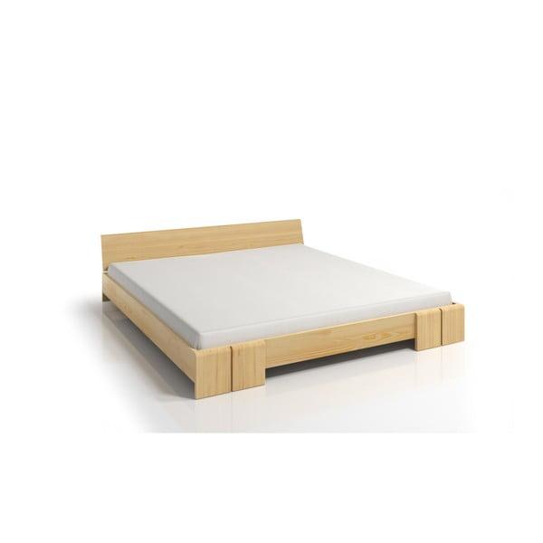 Łóżko 2-osobowe z drewna sosnowego SKANDICA Vestre, 140x200 cm