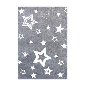 Szary dywan dziecięcy Happy Rugs Satrlight, 130x190 cm