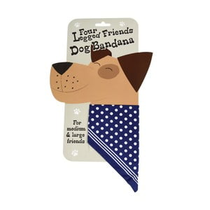 Duża bandana dla psa Rex London Four Legged Friends