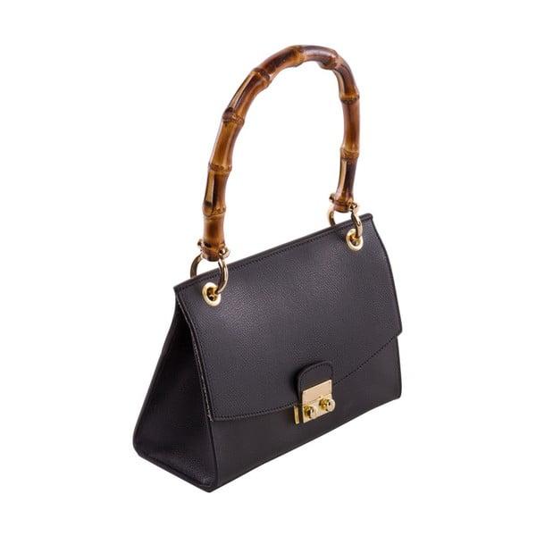 Czarna torebka skórzana Andrea Cardone Drina