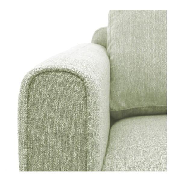 Miętowy fotel Vivonita Milton