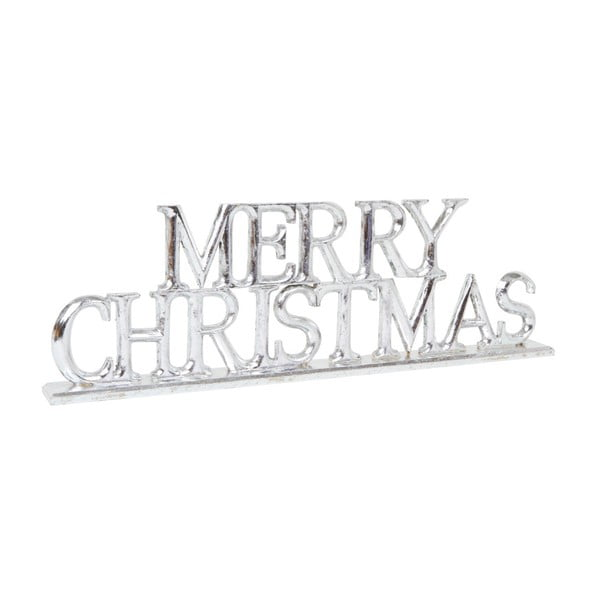 Dekoracja Archipelago Silver Merry Christmas