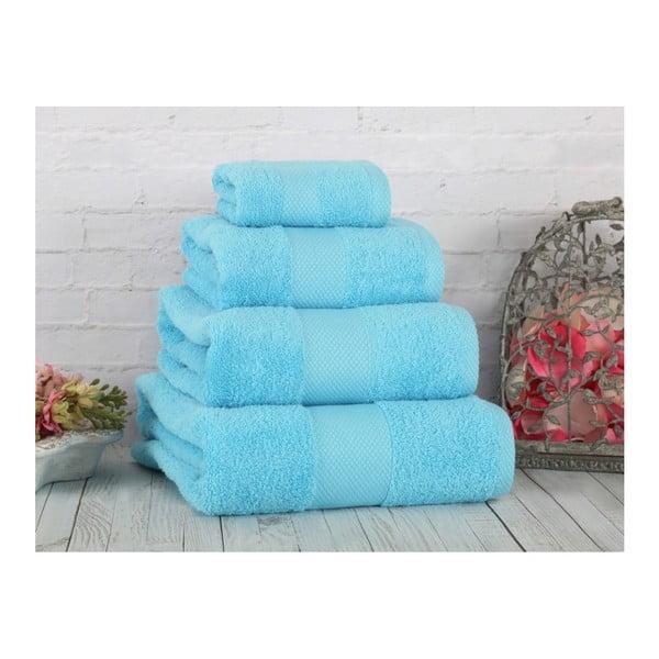 Turkusowy ręcznik Irya Home Coresoft, 90x150 cm