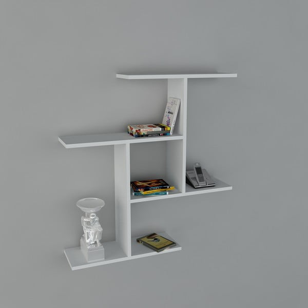 Półka Safe Book White, 22x91x94,5 cm