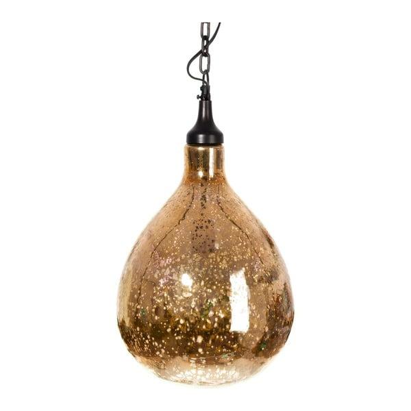 Żyrandol Pear Gold, 27x46 cm