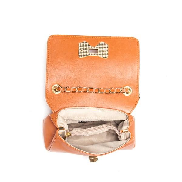 Skórzana torebka Roberta M. 2050 Cognac