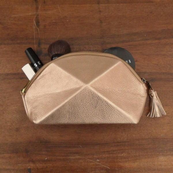 Kopertówka/kosmetyczka Pyramid, miedziana