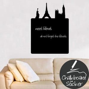 Dekoracyjna tablica samoprzylepna Paris