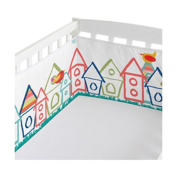 Ochraniacz do łóżeczka Birdhouse, 70x70x70 cm