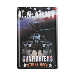 Tablica US Army Gunfighters, 15x21 cm