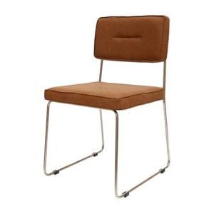 Brązowe krzesło Canett Ella