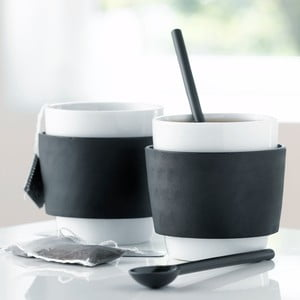 Zestaw 2 kubków do herbaty Steel Function Milano, 250 ml