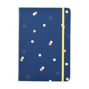 Niebieski notatnik w formacie A5 Busy B, 96 stron