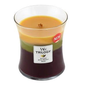 Świeczka zapachowa WoodWick Trilogy Jesienna tradycja 275 g, 60 godz.