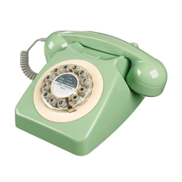 Telefon stacjonarny w stylu retro Serie 746 Green