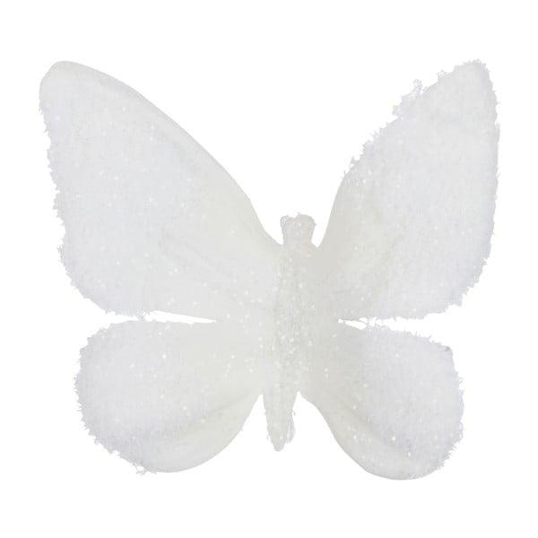 Zestaw 16 motylków z klipsami Butterflies