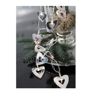 Świetlna dekoracja LED Best Season Mirror Hearts