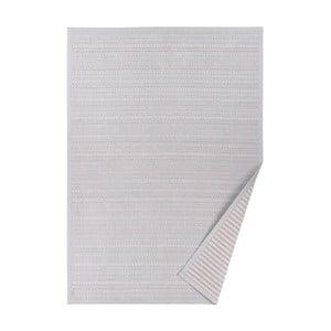 Szary dywan dwustronny Narma Esna, 140x200 cm