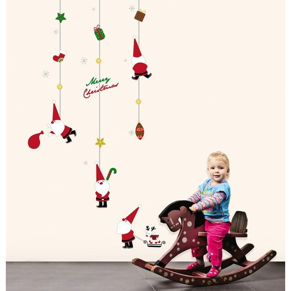 Naklejki świąteczne Fanastick Fathers Christmas Toys