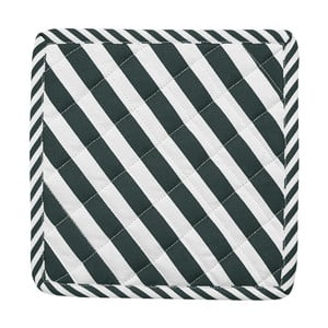Zestaw 2 łapek kuchennych Miss Étoile Closed Eye Black Stripes, 22,4x22,4 cm