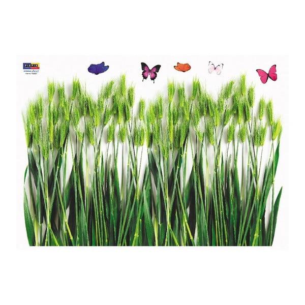Naklejka Ambiance Green Barley Field