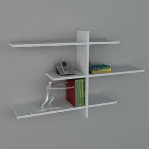 Półka Amentes Book White, 22x116x73 cm