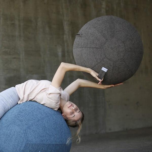 Niebieska piłka do siedzenia VLUV, 75 cm