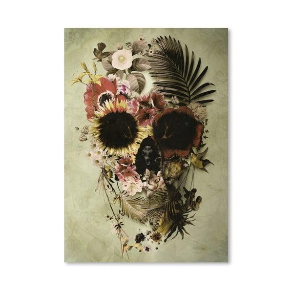 "Plakat autorski ""Garden Skull Light"""