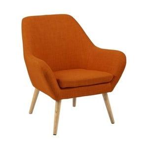 Pomarańczowy fotel Astro Orange
