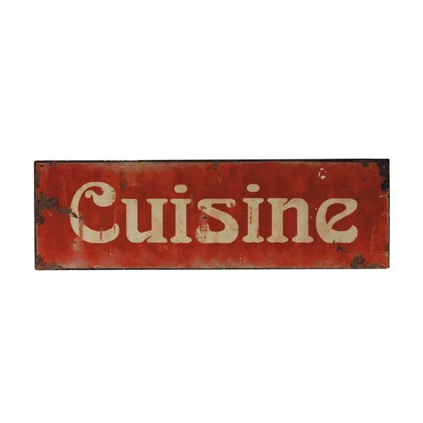Blaszana tabliczka Cuisine