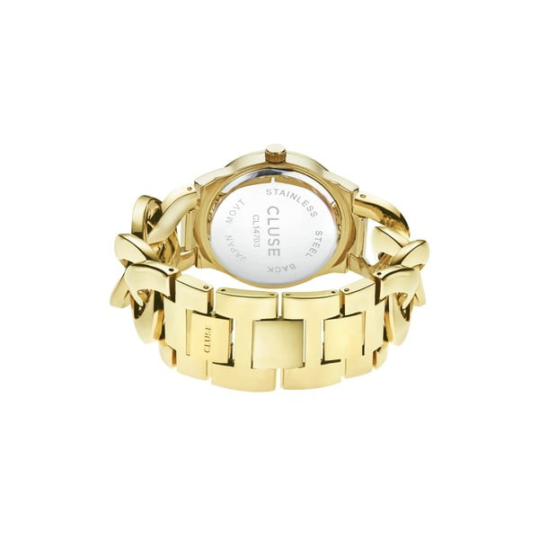 Zegarek damski Brillante Gold/Cerise, 38 mm