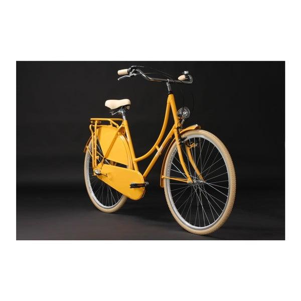 """Rower Tussaud Yellow 28"""", wysokość ramy 54 cm, 3 biegi"""