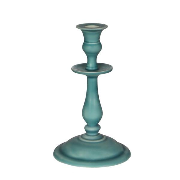 Świecznik Puglia Turquoise, 20 cm