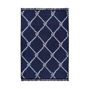 Niebiesko-biały dywan dwustronny CihanBilisimTekstil Rope, 80x150 cm