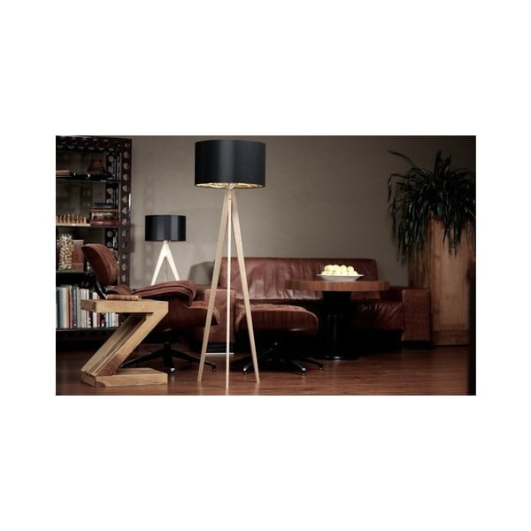 Lampa stołowa Artist Cylinder Brown Grey/Black