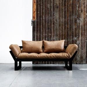 Sofa Karup Vintage Edge Black/Cognac