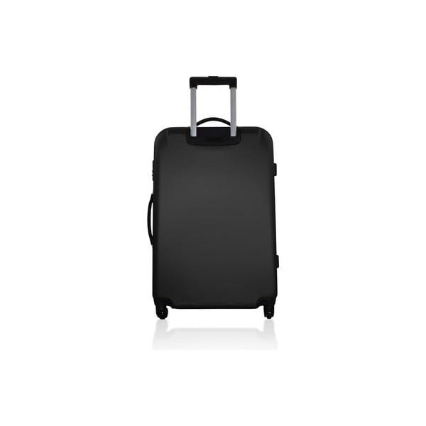 Komplet 3 walizek Valises Avec Simple Black