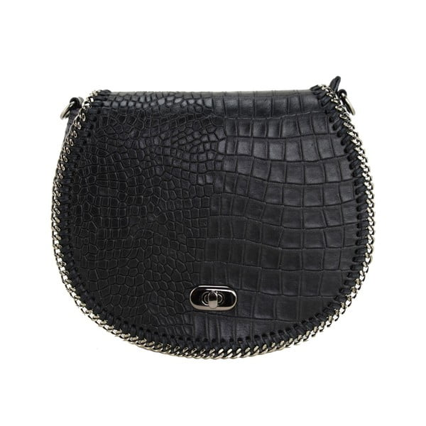 Skórzana torebka Valentina Nero