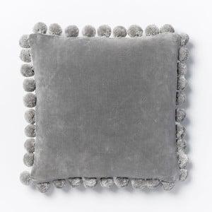 Poszewka na poduszkę Ashti Grey, 45x45 cm