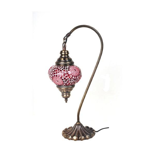 Lampka szklana Fishing III, 13 cm